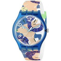 Swatch Unisex SUOZ189 Goats Keeper Analog Display Quartz Multi-Color Watch
