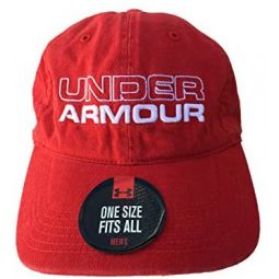 Under Armour Men`s Adjustable Golf Cotton Cap
