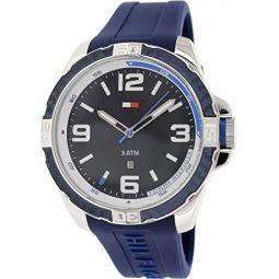 Tommy Hilfiger 남성용 1791091 아날로그 디스플레이 쿼츠 블루 시계
