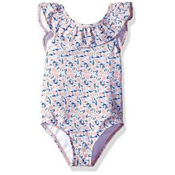 Gymboree Womens Big Girls One Piece Swim Suit