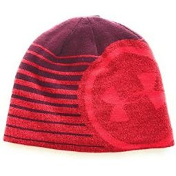Under Armour Mens Billboard 2.0 Beanie (Red/ Garnet Red)