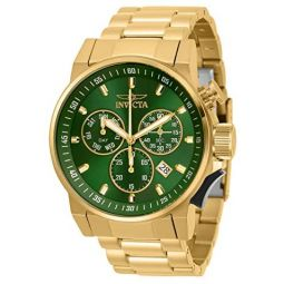 Invicta I-Force Chronograph Quartz Green Dial Mens Watch 31639