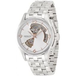 Hamilton Jazzmaster Silver Dial Stainless Steel Mens Watch H32565155