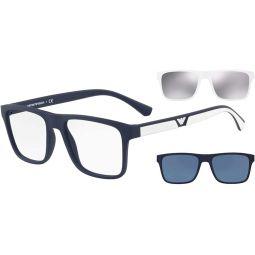 Sunglasses Emporio Armani EA 4115 F 56691W Matte Dark Blue