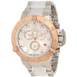 Invicta Mens 10547 Subaqua Noma III Chronograph Silver Dial Watch