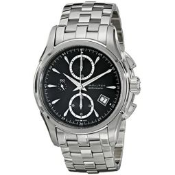 Hamilton Mens H32616133 Jazzmaster Chronograph Watch