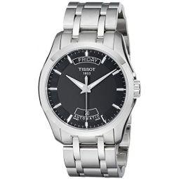 Tissot Mens T0354071105100 Couturier Day-Date Calendar Watch