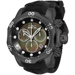 Invicta Venom Chronograph Quartz Black Dial Mens Watch 33304