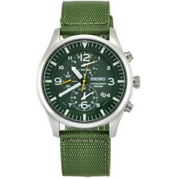 Seiko Mens SNDA27 Green Dial Watch