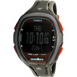 Timex Ironman Sleek 150 Grey Dial Resin Strap Mens Watch TW5M08100
