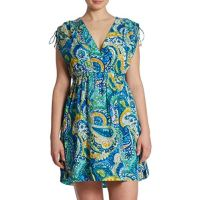 RALPH LAUREN Plus Size Carnivale Paisley Swimwear Cover Up