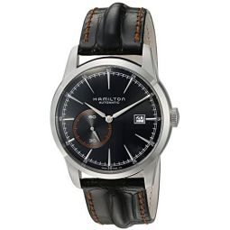 Hamilton Mens H40515731 Timeless Classic Analog Display Swiss Automatic Black Watch