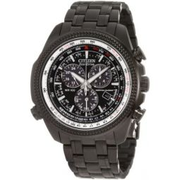 Citizen Mens BL5405-59E Eco-Drive Perpetual Calendar Black Stainless Steel Watch: Citizen: Clothing
