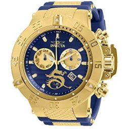 Invicta 31643 Gold/Blue Subaqua Noma III Mens Watch