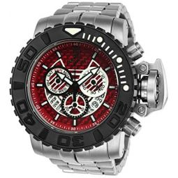 Invicta Mens Jason Taylor Quartz Watch with Stainless Steel Strap, Silver, 30 (Model: 23292)