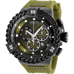 Invicta Bolt HERC Reserve Mens 56mm Swiss Quartz Chronograph Silicone Strap Watch (33157)