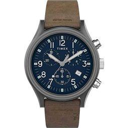 Timex Mens MK1 Steel Chrono 42mm Watch