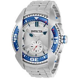 Invicta Akula Quartz Silver Dial Mens Watch 32181