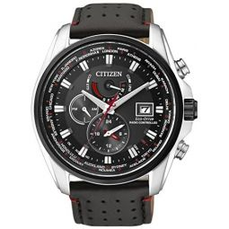 Citizen Mens Analogue Quartz Watch with Leather Strap AT9036-08E
