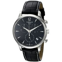 Tissot Mens T0636171605700 Classic Stainless Steel Watch: Tissot: Clothing