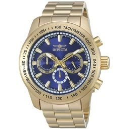 Invicta Mens Speedway Quartz Stainless Steel Casual Watch (Model: 21797)