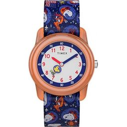 Timex Unisex Adult Analogue Classic Quartz Watch with Textile Strap TW7C79100