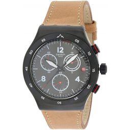 Swatch Irony Quartz Movement Black Dial Mens Watch YVZ400