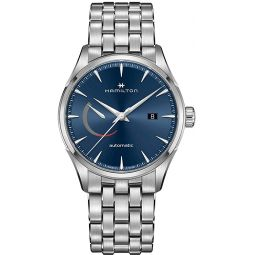Hamilton Jazzmaster Power Automatic Blue Dial Mens Watch H32635141