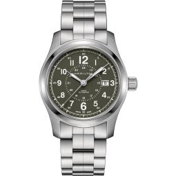 Hamilton H70605163 Silver 42mm Stainless-Steel Khaki Field Auto 42mm Mens Watch