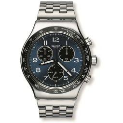 Swatch Irony Quartz Movement Blue Dial Mens Watch YVS423G