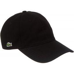 Lacoste Mens Classic Cap - Black