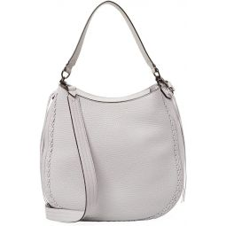 Rebecca Minkoff Unlined Ladies Medium Leather Hobo Handbag HF17GICH32