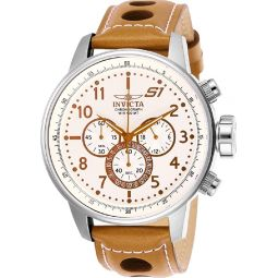 Invicta S1 Rally Chronograph Ivory Dial Mens Watch 25725