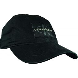 Calvin Klein Wash Twill Mono Snapback Hat 40HH945 010 Black