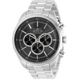 Invicta Specialty Chronograph Quartz Black Dial Mens Watch 30977