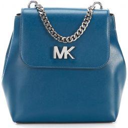 MICHAEL Michael Kors Womens Mott Medium Backpack Luxe Teal