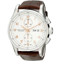 Hamilton Mens H32766513 Jazzmaster Analog Display Automatic Self Wind Brown Watch