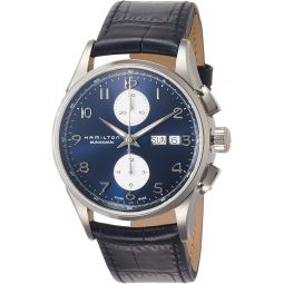 Hamilton Jazzmaster Maestro Chronograph Automatic Blue Dial Mens Watch H32576641