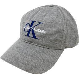 Calvin Klein Jeans Mens Embroidered Monogram Logo Baseball Dad Hat