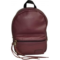 Rebecca Minkoff Medium Leather Zip Backpack