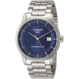 Tissot Mens T0864071104100 Analog Automatic Silver-Toned Stainless Steel Watch