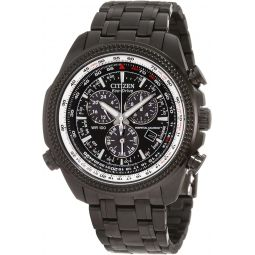 Citizen Mens BL5405-59E Eco-Drive Perpetual Calendar Black Stainless Steel Watch