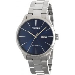 Citizen Classic Automatic Blue Sunray Dial Steel Watch NH8350-83L