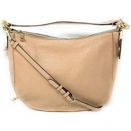 Coach Womens Pebbled Leather Elle Hobo