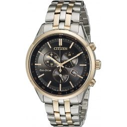 Citizen Mens Eco-Drive Chronograph Watch with Date, AT2146-59E