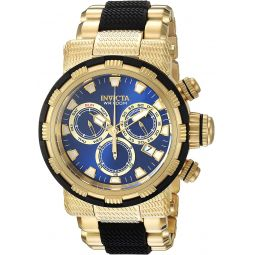 Invicta Mens Specialty Quartz Watch with Stainless-Steel Strap, Two Tone, 30 (Model: 23979)
