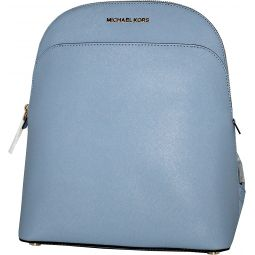 MICHAEL Michael Kors Womens EMMY Leather Backpack (Pale Blue)