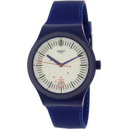 Swatch Mens Originals SUTN401 Blue Silicone Automatic Watch