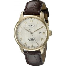 Tissot Mens T41.5.413.73 Le Locle Automatic Skeleton-Back Watch