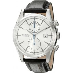 Hamilton Mens H32416781 Spirt Liberty Analog Display Automatic Self Wind Black Watch